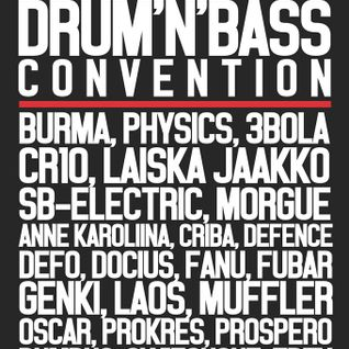DJ Trey Helsinki Drum And Bass Convention Promo Mix