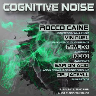 VIN NUEL @ Cognitive Noise, 18/05/2013 1st Floor/DU