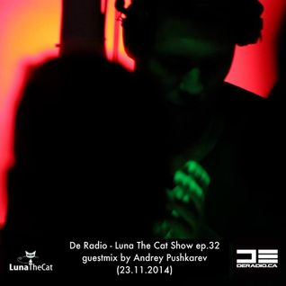 De Radio - Luna The Cat Show ep.32 guestmix by Andrey Pushkarev (23.11.2014)