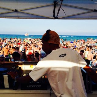 DJ Patife & Cleveland Watkiss @ La Cinta Beach Sun And Bass 2014