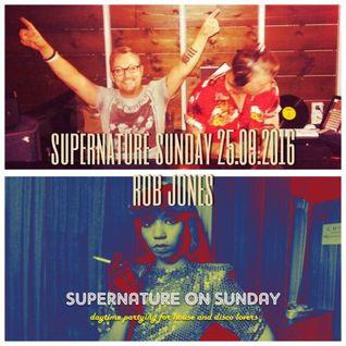 Supernature on Sunday September 25th 2016