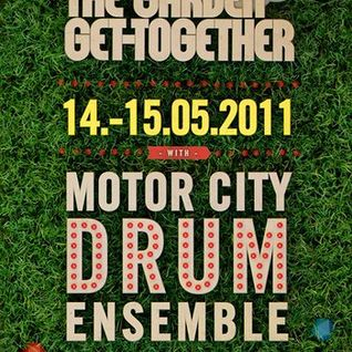 Motor City Drum Ensemble - Live @ The Garden Get-Together, About:Blank, Berlin (14-05-2011)