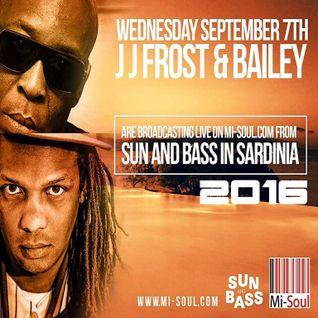 JUMPING JACK FROST & BAILEY @ SUNANDBASS 2016 - 07/09/16