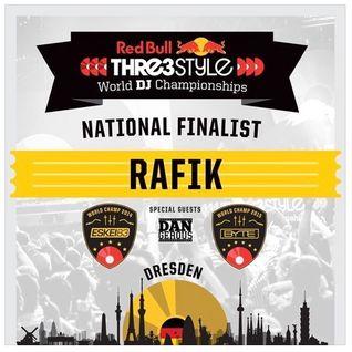 DJ Rafik Red Bull Thre3style 2016 Set