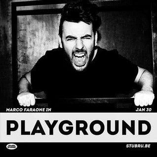 Marco Faraone - Playground, Studio Brussel 2016-01-30 -