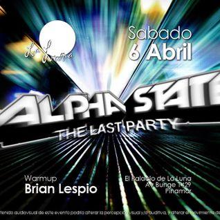 Brian Lespio @ La Luna Pinamar (Parte 1)