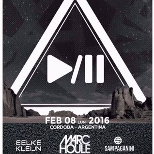 Eelke Kleijn - Live @ Musica En El Desierto (Cordoba, Argentina) - 08.02.2016