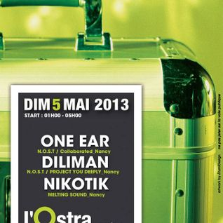 OnE EaR Vinyl Only @ L'Ostra Club 05-2013