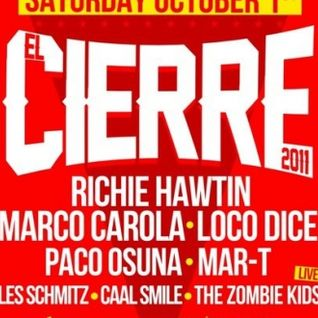 "Amnesia Ibiza Closing Party ""EL CIERRE"" 2011 - Matinée All Stars"