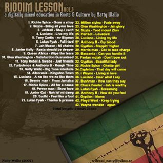 Riddim Lessons vol 01