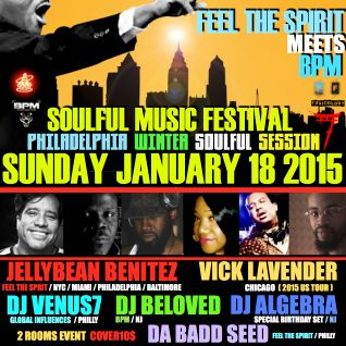 DJ VENUS7  PHILLY SOULFUL FEST (  MLK LONG WEEKEND MIX PART 1 ) MP3 LIVE..