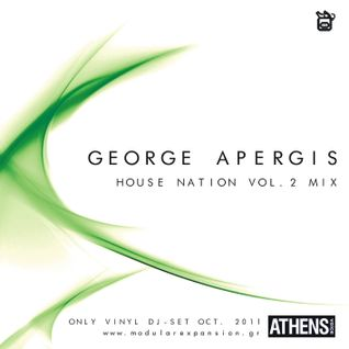 George Apergis_2011_House Nation volume 2_ vinyl Mix