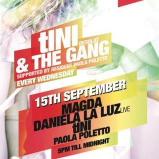 Daniela La Luz LIVE with tINI & the Gang [Magda & tINI (desolat)] @ Ushuaia / Ibiza