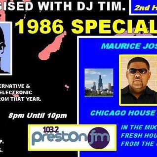 Energised With DJ Tim Featuring Maurice Joshua - 21/12/13 - 103.2 Preston fm