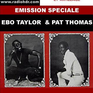 Emission radio spéciale EBO TAYLOR et PAT THOMAS  de Black Voices Radio HDR  ROUEN Novembre 2015