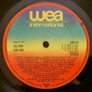 GREG WILSON PRESENTS THE ORIGINAL BRITISH MIXES - WEA DJ SAMPLER (SAM 78) 1977