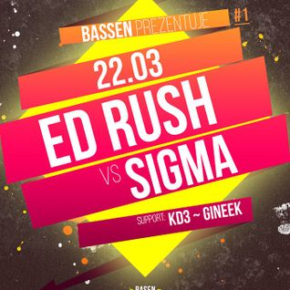 KD3 - Live @ Basen with Ed Rush & Sigma (22.03.2014)