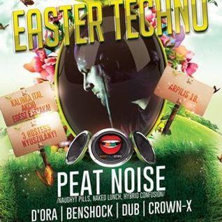 Peat Noise @ Easter Techno, T.SZ. Club , Nógrádsáp (Hungary) (19.APR.2014)