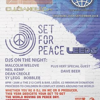 Neil Kemp - Set For Peace Leeds 2014 live at The 212