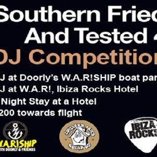 Southern Fried Tested 4 W.A.R! DJ Competition by Dave Clinton