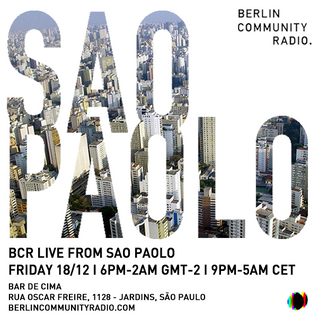 BCR Live From Sao Paolo- Raquel Krügel & Bruno Palazzo
