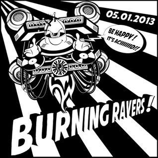 DJ GALISH (mix electro breakz) @ BURNING RAVERS 05.01.2013