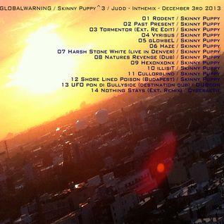 GLOBALWARNING/Skinny Puppy^3/DJJudd–Inthemix–December 3rd 2013