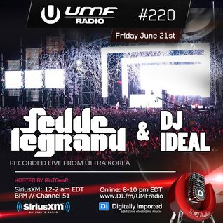 IDeaL Sounds 002 - DJ IDeaL 6-21-13 - Ultra Music Festival Radio #220 (UMF)