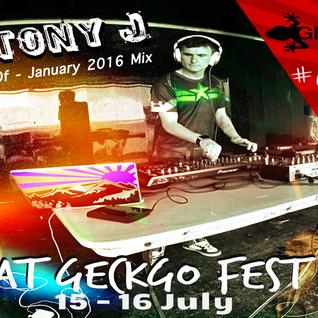 TonyJ's Best Of - January 2016 Mix