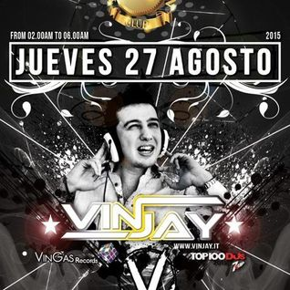 Vinjay @ Veto Social Club (Ibiza-Spain) 27 - 08 - 2015 - Part 1