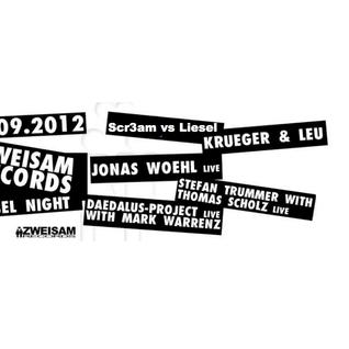 Scr3am vs Liesel @ RAW Zweisam Records Label Night 29 09 2012