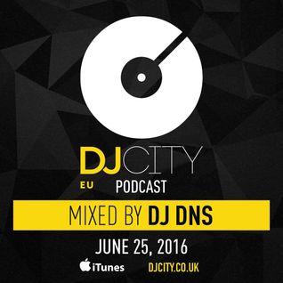 DJ DNS - DJ City Benelux Podcast (June 2016)