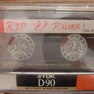 Real Mixtape at work one Saturday in 1989 (Side B1)