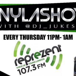 #WylaShow with @DJ_Jukess on @ReprezentRadio 17/04/2014