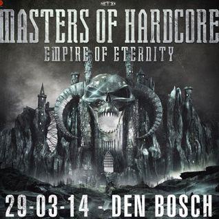 Nosferatu & Outblast live @ Masters of Hardcore - Empire of Eternity (Den Bosch) 29.03.2014