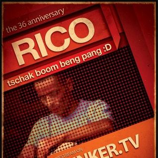 Techno Session with rico @BunkerTv....12.10.2014....!!!!