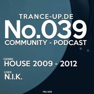 No. 039 Mixed by N.I.K.