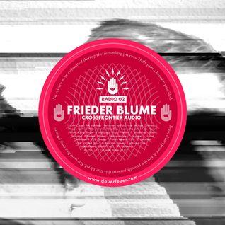 dauerfeuer Radio 02 – Frieder Blume (Crossfrontier Audio)