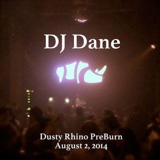 Dusty Rhino Pre-Burn 2014