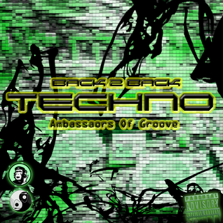 AOG presents - TECHNO The B2B Sessions, LIVE Mix By Dead Wood & MonkPfunk