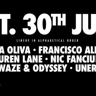 Nic Fanciulli - Live @ Ants Party Beach Hotel (Ushuaia, Ibiza) - 30.07.2016