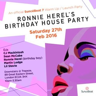 "#Ronnie H's 'House Party"" Mix"