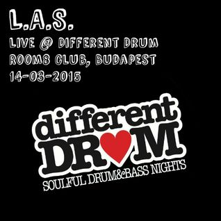 L.A.S. - Live @ Different Drum (room8, Budapest) 14-03-2015
