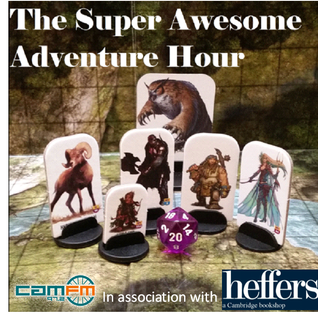 The Super Awesome Adventure Hour: Episode 1 - I Know Your Mum