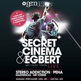 Lama - Flow Rec Party - Secret Cinema & Egbert