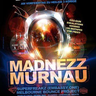 Melbourne Bounce Project @MADNEZZ Murnau 05.01.2016 liveset