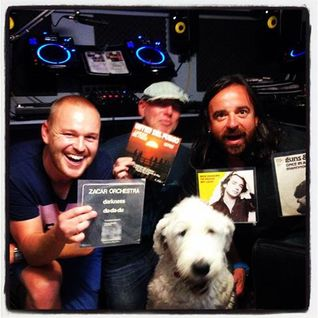 Balearic Mike & Ben Monk with special guest Kelvin Andrews . . . and Derek the Balearic dog
