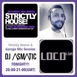 Strictly House & Garage Mix Session (27.03.2015)