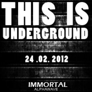 Immortal Tune live @ Casablanca This Is Underground 24.2.2012