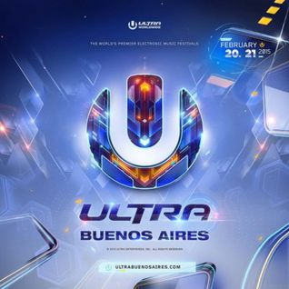 Wilkinson - Live @ Ultra Buenos Aires 2015 (Argentina) - 21.02.2015